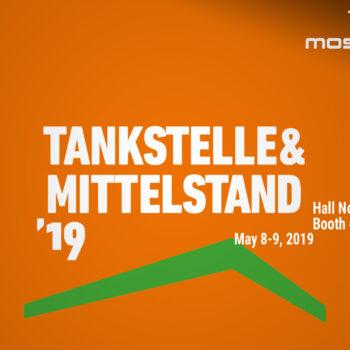 Mosmatic an der Tankstelle und Mittelstand Messe 2019