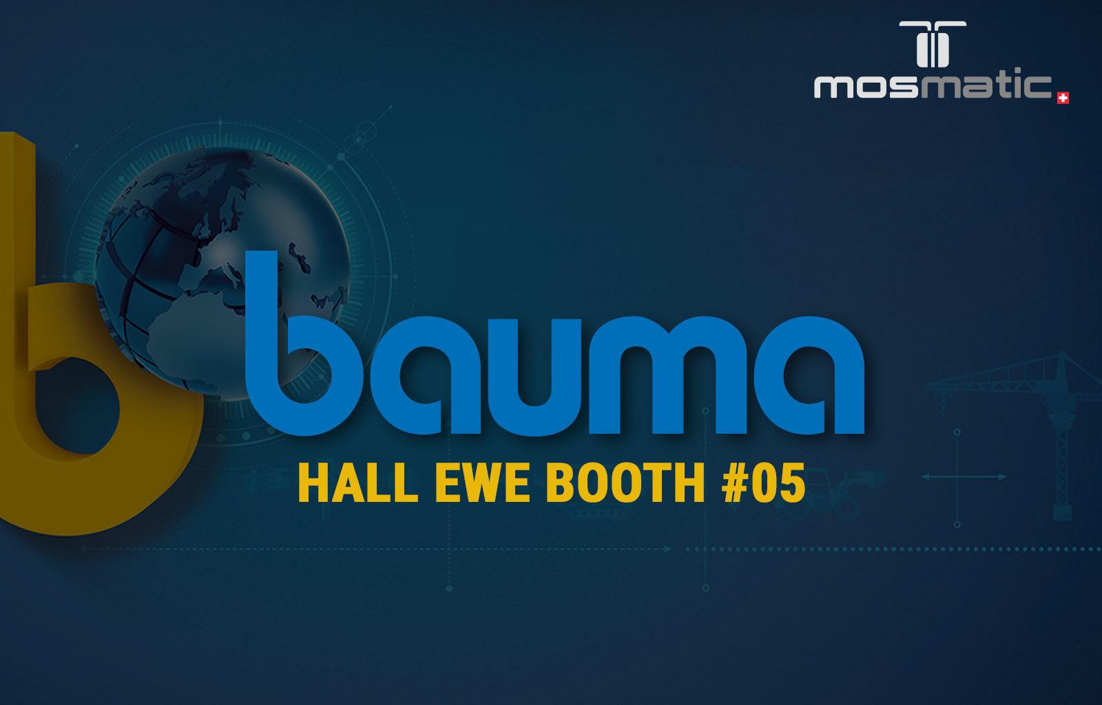 Mosmatic at the BAUMA 2019